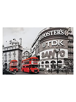 ARTOPWEB Panel Decorativo Piccadilly Circus London Red