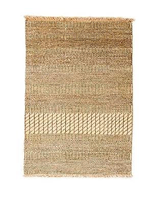 RugSense Alfombra Grass Beige/Marrón 98 x 62 cm