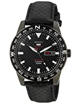 Seiko 5 Sports Analog Black Dial Men's Watch - SRP719K1