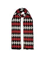 TieKart Men's Scarves (Red) - LVS8