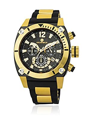 Reichenbach Reloj 45 mm RB115-222 (Negro / Amarillo)