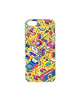 Techno Town iPhone 5/5S Case