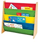 Tot Tutors Book Rack, Primary Colors