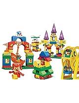 Sluban Amusement Park Building Block Set - 155 Pieces, Multi Colour