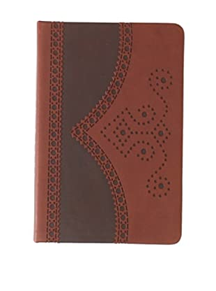 Ted Baker Brown Small Brogue Notebook