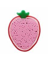 Strawberry Fruit Shape Sponge Loofah - Bath & Body Bathroom Accessories Scrubbers
