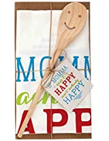 Mud Pie Momma Towel and Spoon