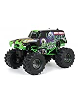 New Bright 61030G 9.6v Monster Jam Grave Digger Remote Controlled Car, 12-Inch