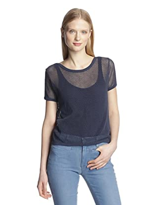 MiH Jeans Women's The Pinny Tee (Navy)