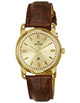 Maxima Analog Gold Dial Men's Watch - 24494LMLY
