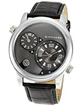 Giordano Analog Black Dial Men's Watch - 60058 (P10499)
