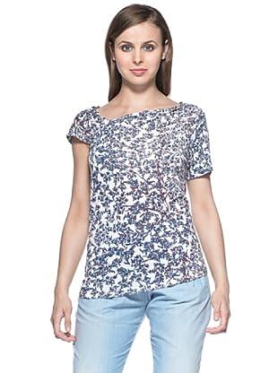 See By Chloé Camiseta Naomie (Blanco/Azul)