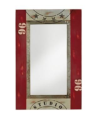 Espejo Studio Rojo
