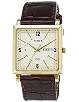 Timex Classics Analog White Dial Men's Watch - TI000T214