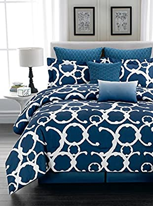 Duck River Textile Rhys Hotel 7-Piece Quilted Overfilled Comforter Set