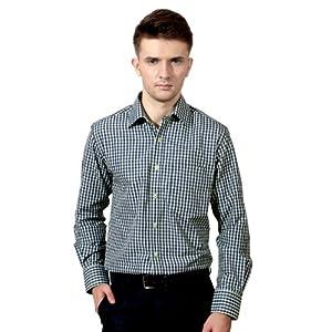 Peter England Formal Checked Shirt