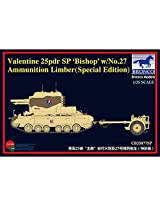 "1/35 Brit Valentine 25pdr SP ""Bishop"" w/Ammo, SE"