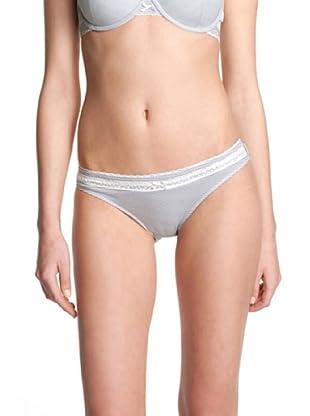 ESPRIT Bodywear Damen Slip, gestreift B9229/Candy (Blau (DS))