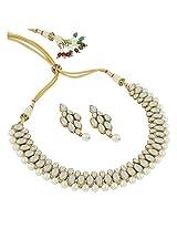 Designer Kundan Necklace Set For Women by Shining Diva