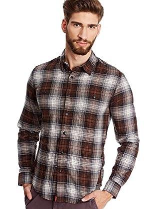 Dockers® Hemd Alpha Khaki Wrinkle