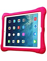 Fintie Ultra Light Weight Shock Proof Kids Friendly iPad Air Kiddie Case Cover, Magenta (EPC0307AD-US)