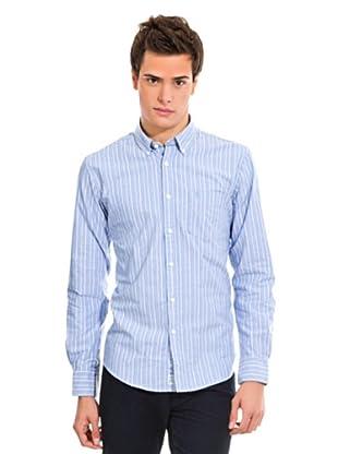 Springfield Hemd (Hellblau/Weiß)
