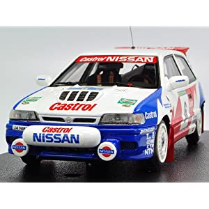 【クリックで詳細表示】hpi 1/43 Nissan Pulsar GTI-R No6 1992 Swedish
