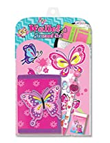 Hot Focus Paradise Theme Wallet and Journal Set with Pencil and Eraser