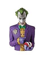 Official DC Comics Arkham Asylum Joker Money Bust Bank Box