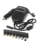 Technotech Auto Car DC Power Regulated Adapter 80w for Laptop, Notebook