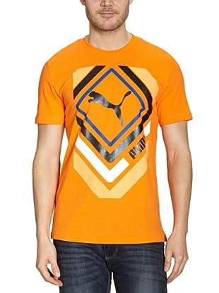 Puma T-Shirt Shinjuku (vibrant orange)