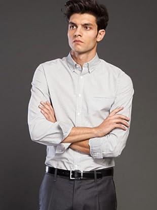 Ikks Camisa (blanco / gris)