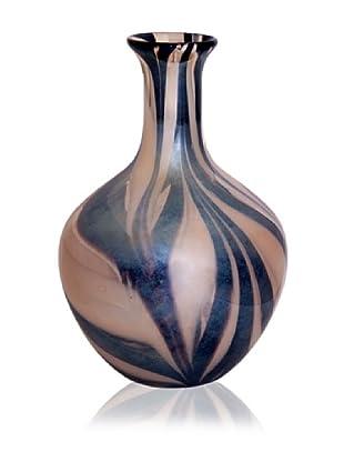 Leopard Wide Belly Vase