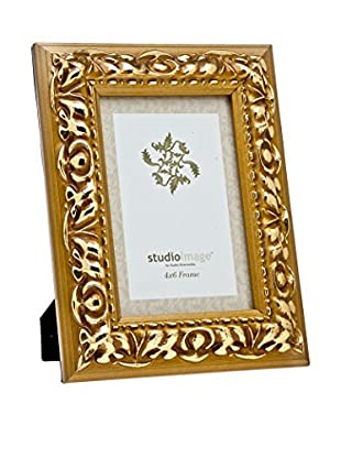 Philip Whitney Wood Leaf Frame (Gold)