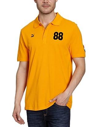 Puma Polo T-Shirt Football Archives T7 (flame orange-holland)