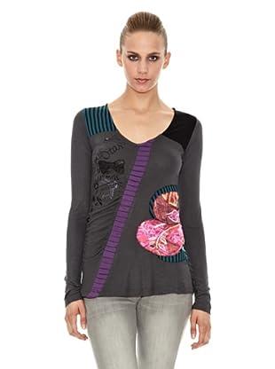 Sidecar Camiseta Alicia (Gris)