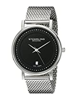 Stuhrling Original Classic Analog Black Dial Men's Watch - 734GM.02