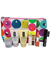 Clinique 7pc Make up & Skin Care Gift Set Soft Pops/melon New&sealed! $70 Value!