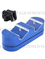 PS4 Play And Charge Dual Slot Charging Dock Blue