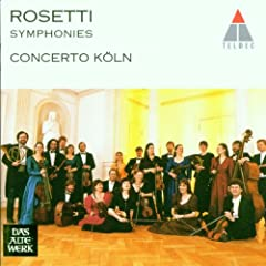 Rosetti;Symphonies