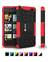 Cush Cases Amazon Fire Phone Heavy Duty Rugged Case / Cover Red
