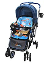 Sunbaby Jungle Collection Baby Stroller (Blue)