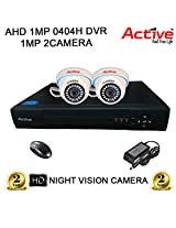 ACTIVE 4CH DVR 2PC DOM NIGHTVISION CCTV CAMERA COMBO