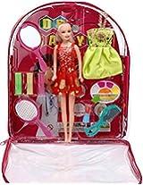 Bag Doll With Makeup
