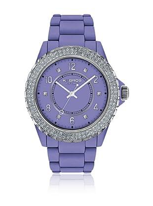 K&Bros  Reloj 9558 (Lavanda)