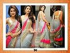 Designer Bollywood Star Shrddha DAS Grey Net Stylish Sari Saree Lehenga 30