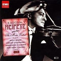 Jascha Heifetz: The Master Violinist(6枚組)のAmazonの商品頁を開く