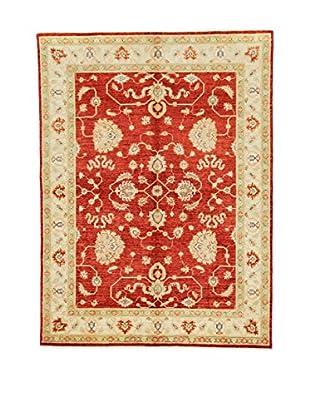 L'Eden del Tappeto Teppich Zeigler rot/beige 196t x t146 cm