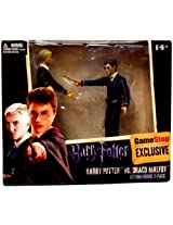 NECA Harry Potter and the Half Blood Prince Exclusive 3.75 Inch Action Figure 2Pack Harry Potter Draco Malfoy