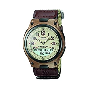 Casio Youth Analog-digital Beige Dial Men's Watch - AW-80V-5BVDF (AD125)